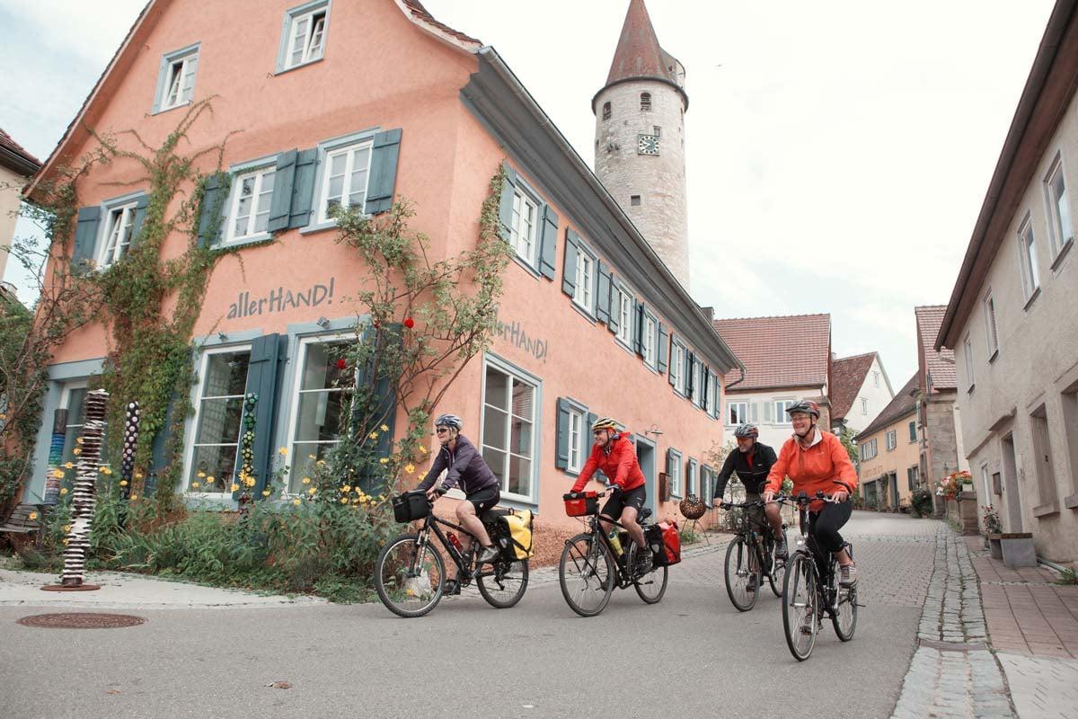 Radtour durch die Stadt