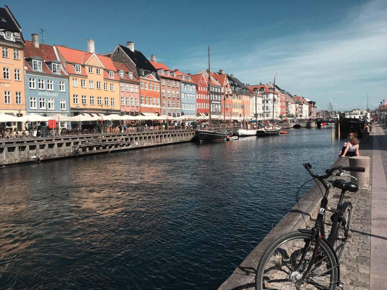 Der Nyhaven in Kopenhagen