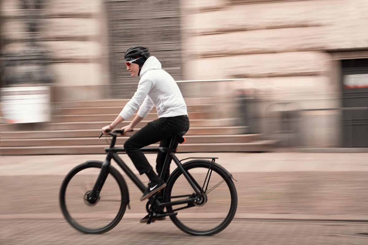 Radschnellwege erlauben hohe Geschwindigkeiten